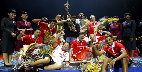 OUE Singapore Slammers crowned Champions of IPTL 2015