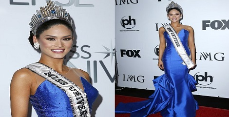 Pia Alonzo Wurtzbach crowned with Miss Universe 2015