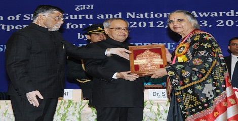 President of India to present Shilp Guru and National Awards