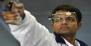 Vijay Kumar won gold in the 59th National shooting championship