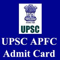 upsc-apfc-admit-card