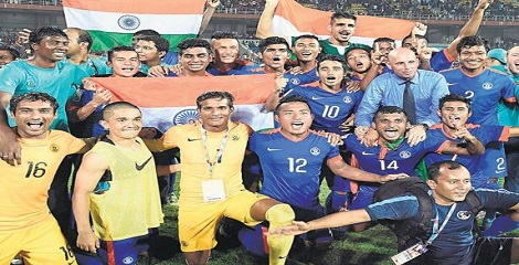 2015 SAFF football championship clinched by India