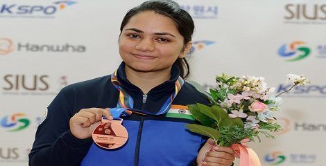 Apurvi Chandela Clinched Gold with Record at Swedish Air-Rifle Championship