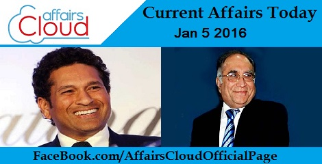 Current Affairs Today 5 January 2016