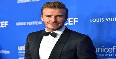 Danny Kaye Humanitarian Leadership Award conferred upon David Beckham