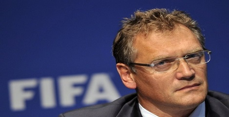 FIFA dismisses Secretary General Jerome Valcke