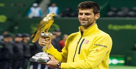 Qatar Open title bagged by Serbian Novak Djokovic