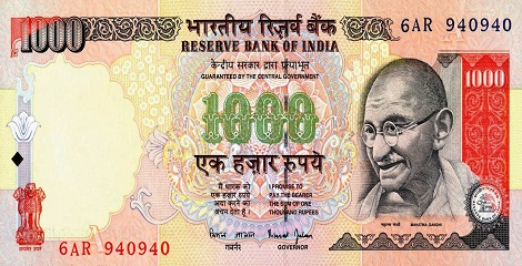 RBI instructed banks to cease Rs 1,000 notes lacking Security Thread