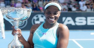 Sloane Stephens claims second WTA title in Auckland