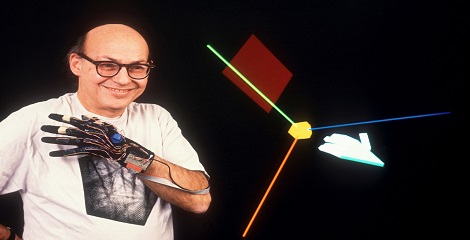 Portrait Of Marvin Minsky