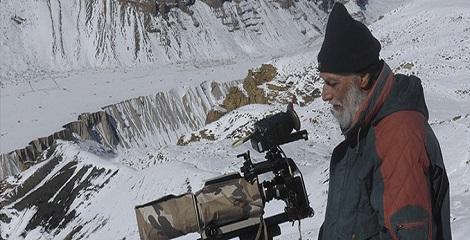 V Shantaram Life Time Achievement Award bestowed upon Wild life film maker Naresh Bedi
