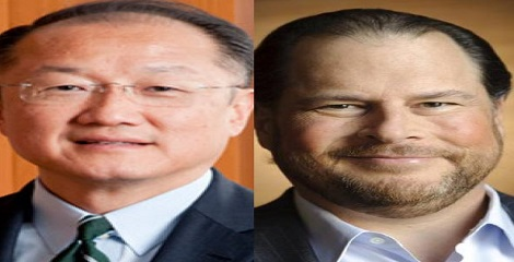 WEF elected Kim & Benioff to its Board of Trustees