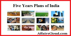 AC Five Years Plans of India