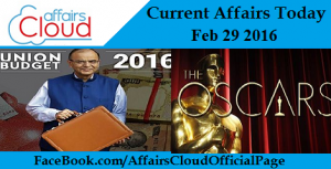 Current Affairs Today feb 29
