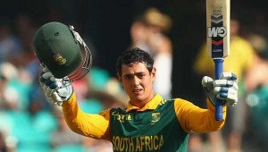 De Kock of South Africa became fastest cricketer to make 10 ODI centuries
