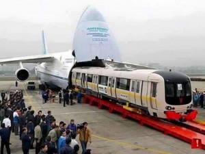 India exported six metro train coaches to Australia