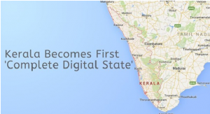 Kerala Becomes India's first Digital state