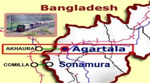 Laying of Agartala-Akhaura rail line to be completed by 2017