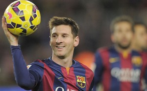 Lionel Messi wins the La Liga player of the month award