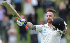 McCullum plays record 100th consecutive Test