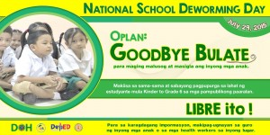 National School Deworming Day