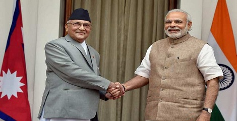 Nepal PM KP Oli visit to India - An Overview