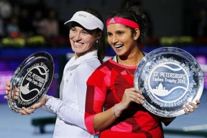 Sania-Hingis win St. Petersburg Ladies Trophy