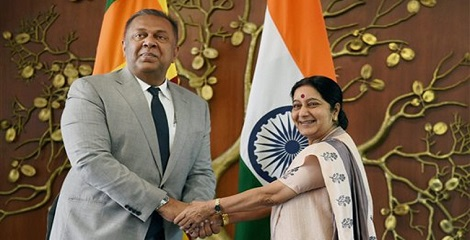 Sushma Swaraj visit to Sri Lanka - An Overview
