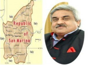 Anil Wadhwa concurrently accredited as the next Ambassador of India to the Republic of San Marino