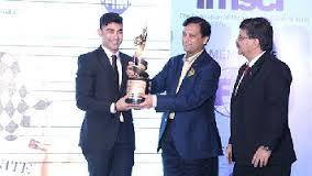 Armaan Ebrahim won FMSCI Motorsports Man of the Year Trophy