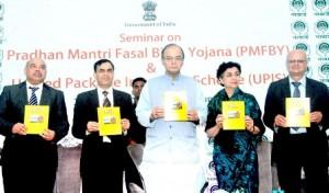 Arun Jaitley Launches Fasal Bima Yojana