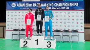 Asian 20km race walk championships