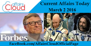 Current Affairs Today March 2