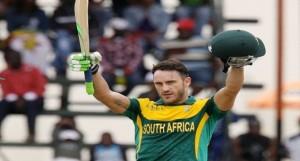 Du Plessis 2nd fastest to reach 1,000 T20I runs