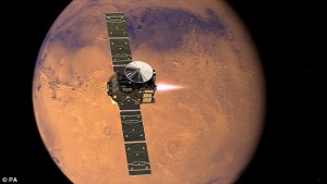 Europe and Russia launched Exo-Mars to explore the Red Planet