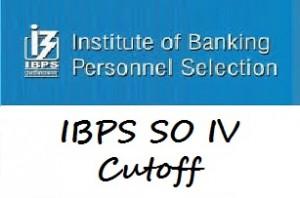 IBPS SO cutoff