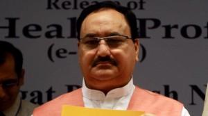 J P Nadda launches Rota virus vaccine
