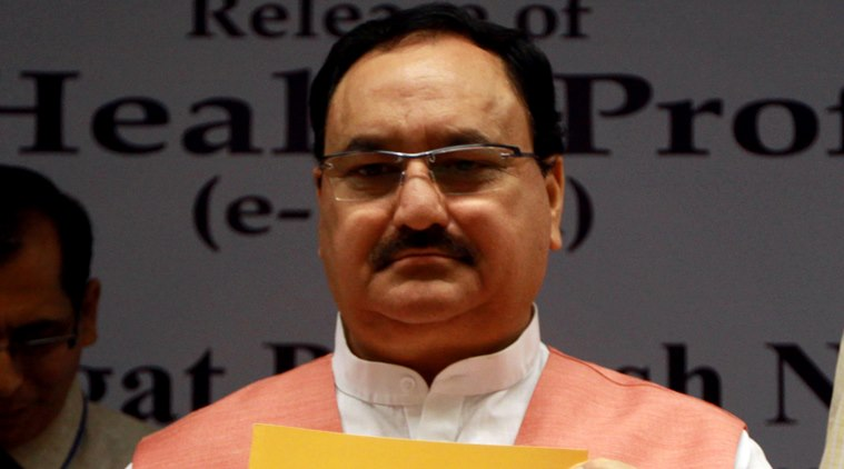 J P Nadda launches Rota virus vaccine