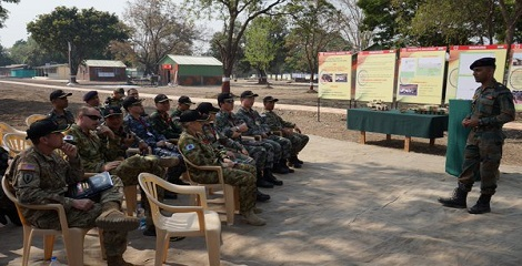 Military Exercise FORCE 18 kicked off in Pune
