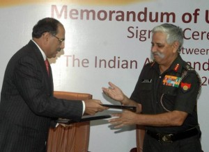 MoU between Indian Army and Indusind Bank