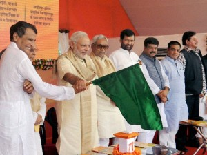 PM Modi inagurate the 3 railway Project