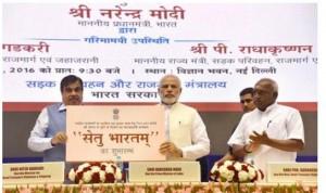 PM Narendra Modi Launches Setu Bharatam Project