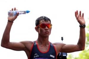 Rana wins gold in 50km race walk in National Championships
