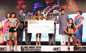 Shweta Rathore wins Miss India title in Body building
