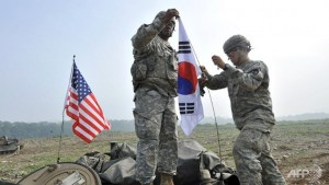 South Korea and US Begin Military Exercise