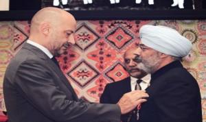 Tikka Shatrujit Singh conferred with French Civil Award
