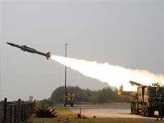 Akash missile test fired in Odisha