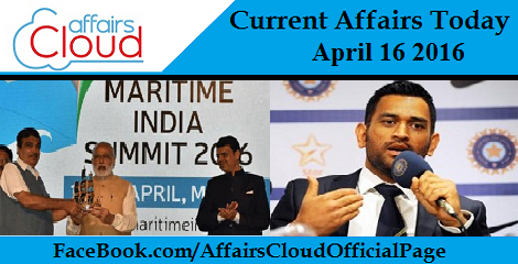 Current Affairs Today-16