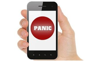DoT notified Panic Button and Global Positioning System