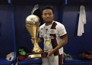 Football Striker Jeje clinches FPAI Indian Player of the year Award